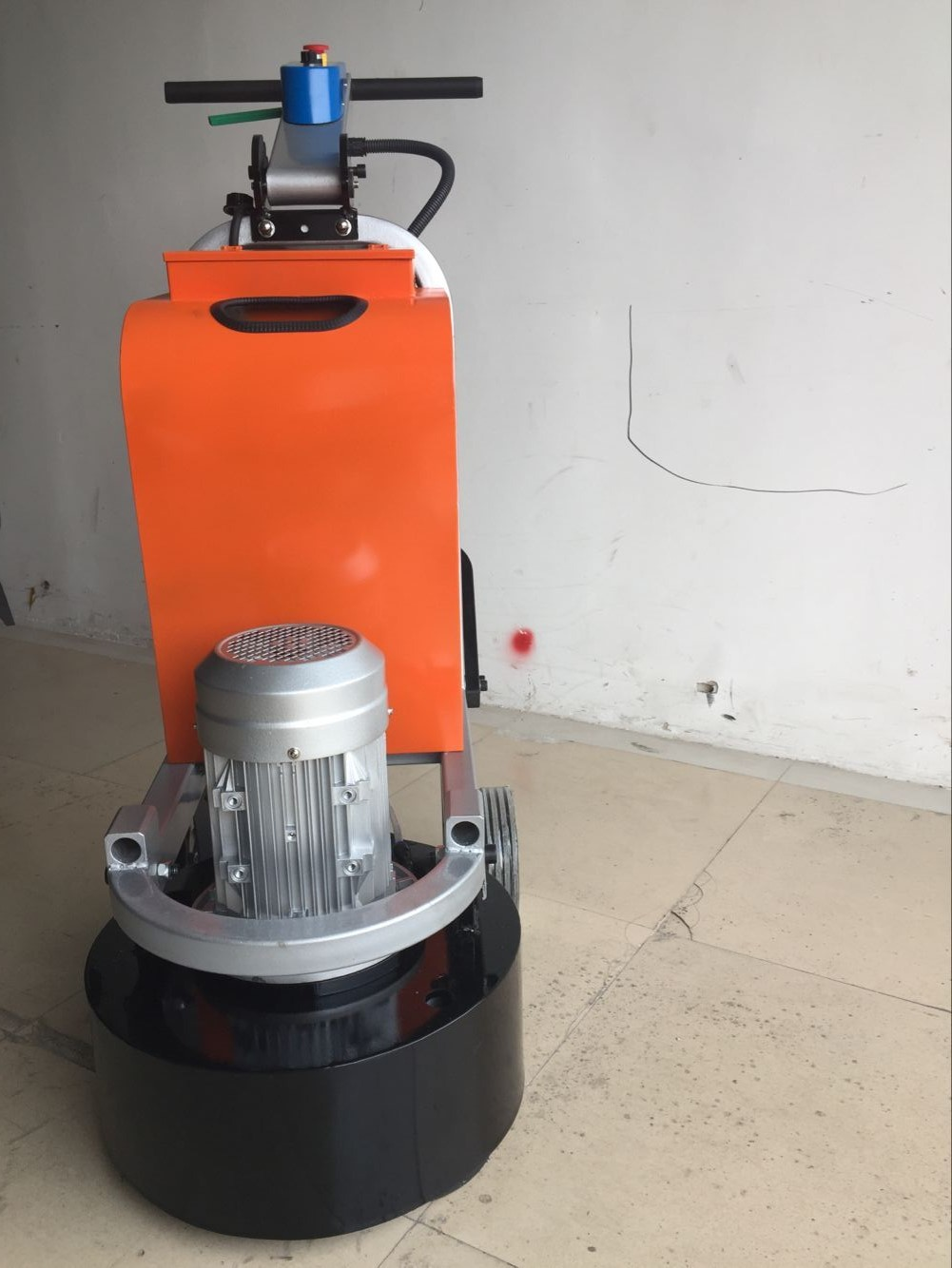 small planetary floor grinder with HTC bottom plate for export Europe