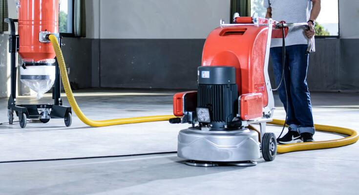 how to choose dust extractor for floor grinder
