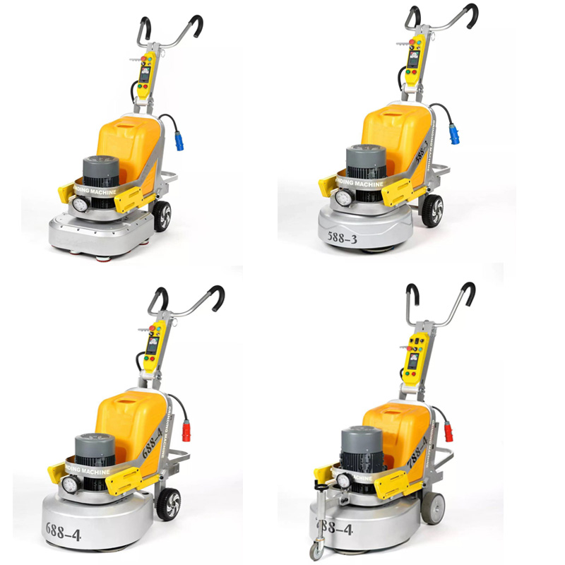high-end floor grinding machine with all aluminum alloy gearbox
