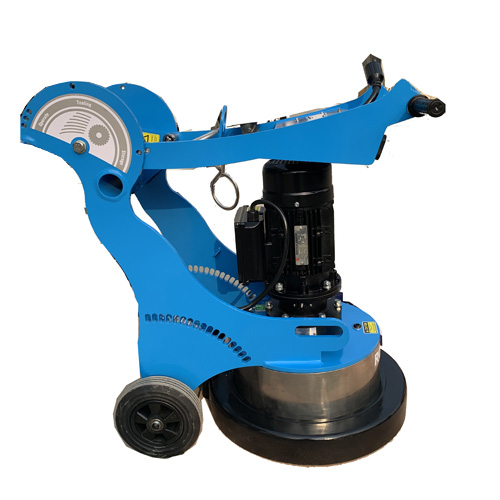 floor grinding machine with cup wheels